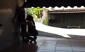 Simatra shemale fuck on motel favelas