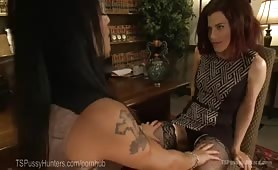 TS Diva author fucks nosey journalist